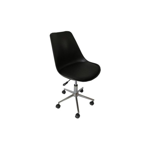 Moira black padded seat gas