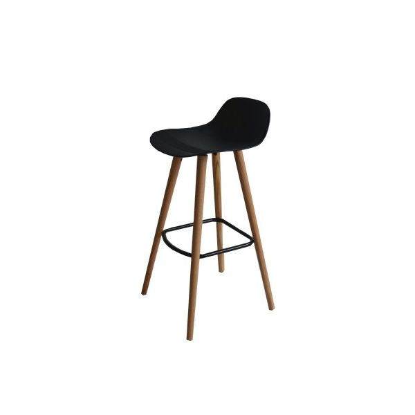 2X barstools with solid Red Oak legs