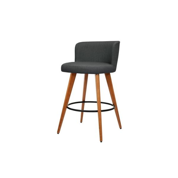 Arhana 2x Modern Bar Stool Kitchen Fabric