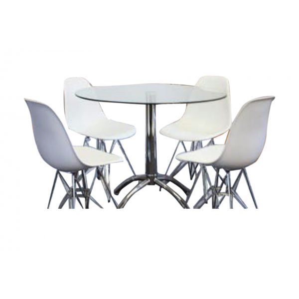 Sliven Dining Suite With Eifeel Chairs