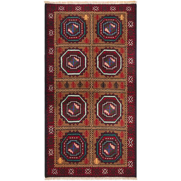 Hand Knotted Persian Balouch: 182X98CM