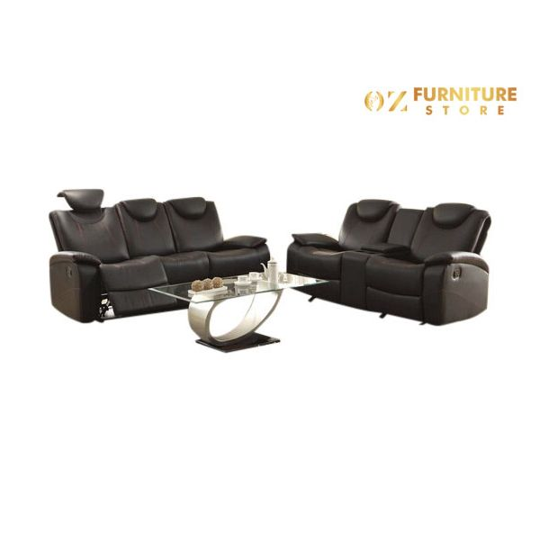 Tineo Leather Recliner Lounge 3+2
