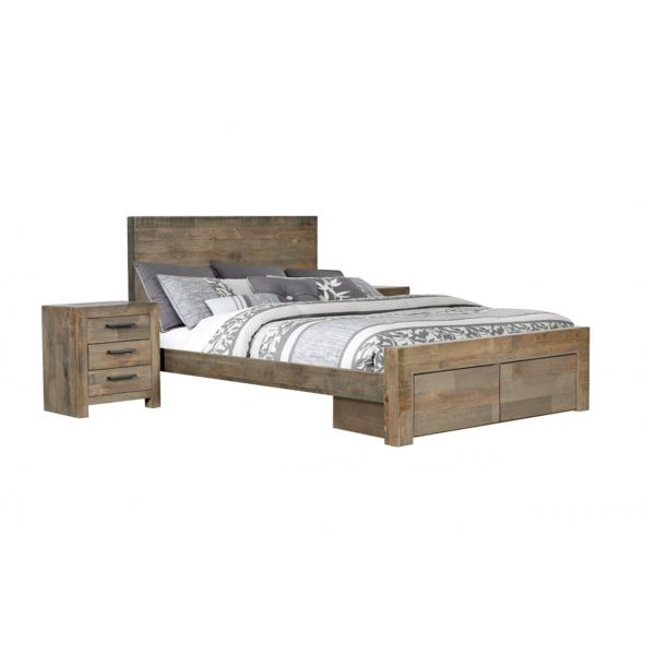 Kosmo 3 Piece Bed with Drawers Suite