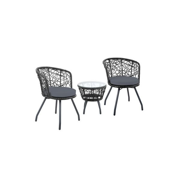 Parkin Outdoor Patio Chair and Table