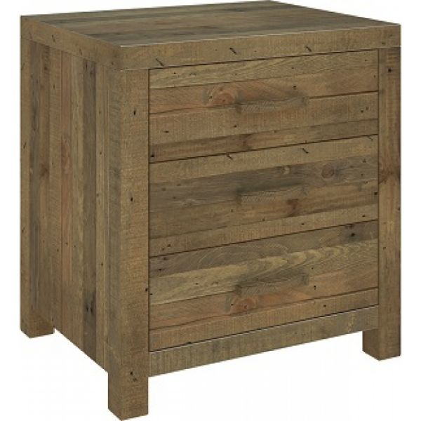 ALAVA TIMBER BED SIDE TABLE