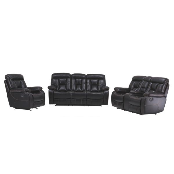 Imola Bonding Leather Recliner Lounges 3+2+1