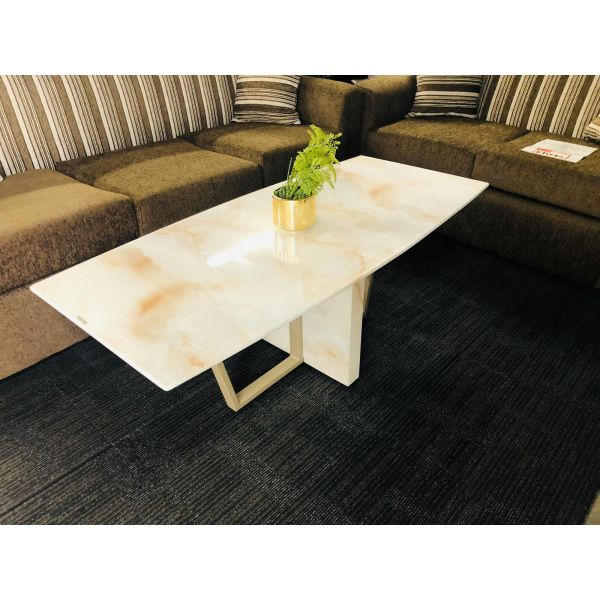 Mavis Designer Glass Coffee Table
